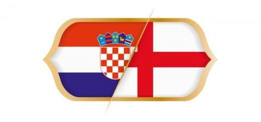 Hırvatistan - İngiltere Yarı Final Maçı