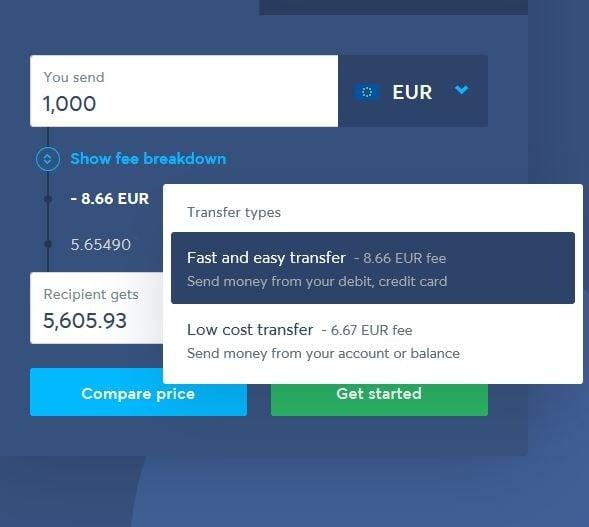 TransferWise - Para Gönderme