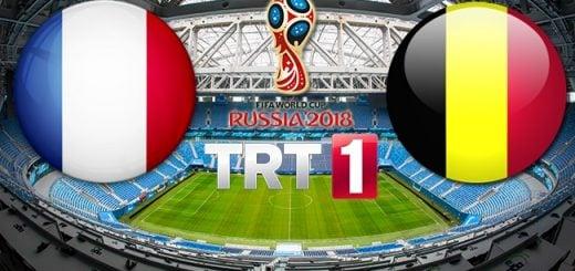 Fransa - Belçika Yarı Final Maçı