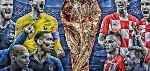 Fransa Hırvatistan 2018 Dünya Kupası Finali