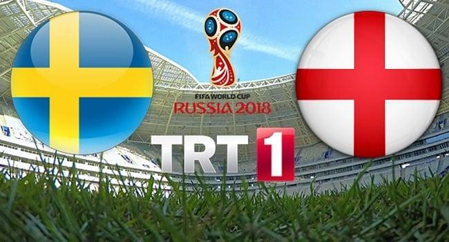 İsveç - İngiltere Çeyrek Final Maçı