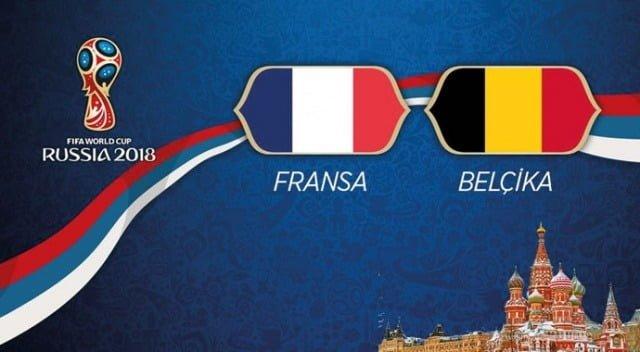Fransa - Belçika Maç Özeti | Yarı Final