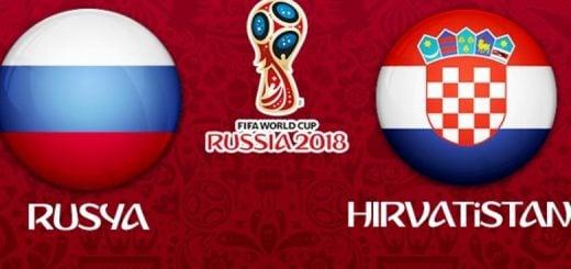 Rusya - Hırvatistan Maç Özeti | Çeyrek Final