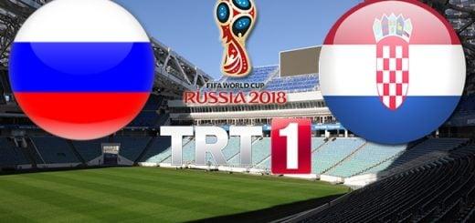 Rusya - Hırvatistan Çeyrek Final Maçı