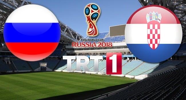 Rusya - Hırvatistan Çeyrek Final Maçı 2