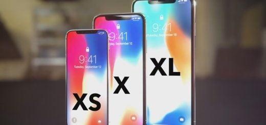 iPhone Xs, iPhone Xs Plus ve iPhone Xr